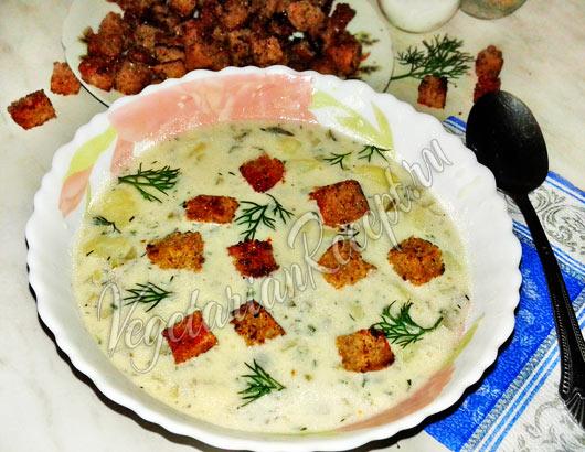 Чешский картофельный суп