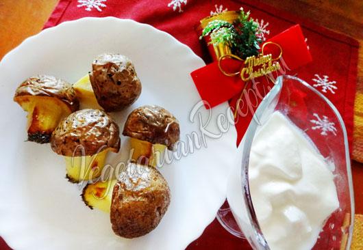 Грибочки картофельные
