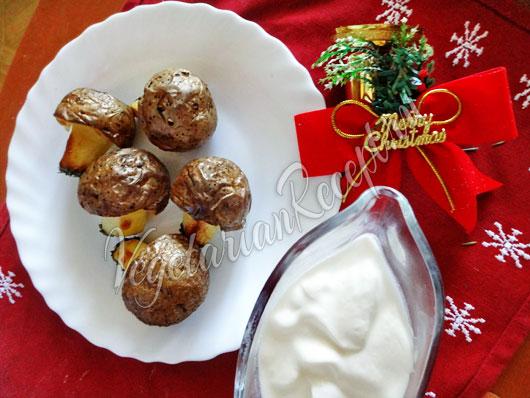 Грибочки из картофеля фото