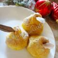 Картофельные груши под снегом
