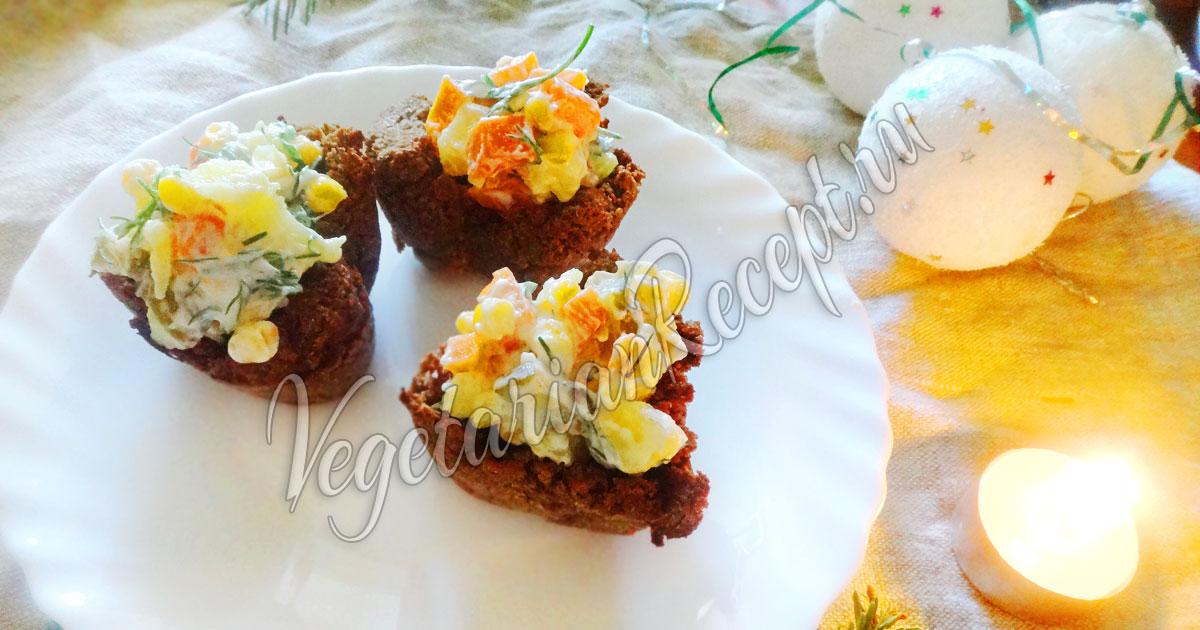 рецепт и фото корзиночек с салатом