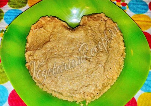 Делаем тесто из чечевицы