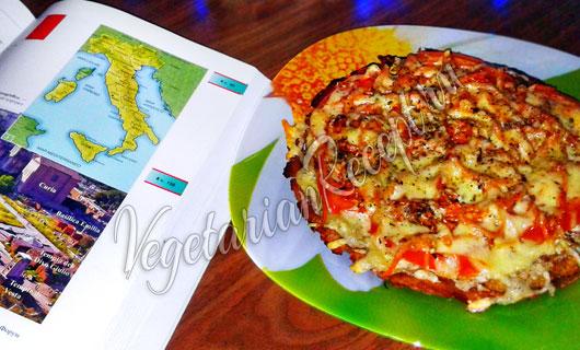 Пицца без теста - рецепт с фото