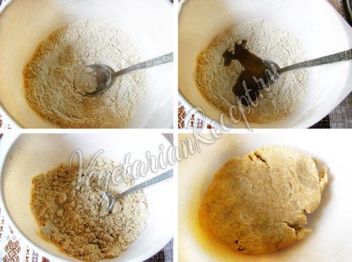 Приготовление теста для печенья