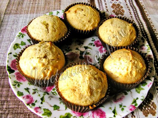 Постные кексы с медом рецепт