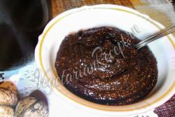 Постный шоколадный крем