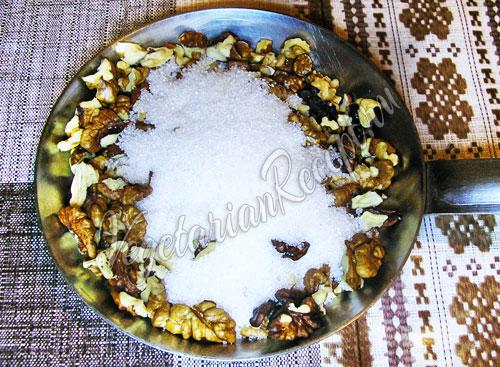 Орехи с сахаром