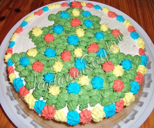 Торт на сковороде - рецепт с фото