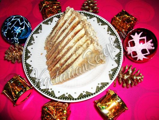 рецепт торта коржи жарить на сковороде