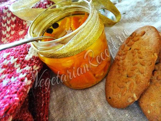 Варенье из мандариновых корок фото