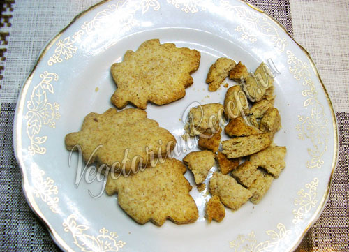 Батончик с печеньем - приготовление
