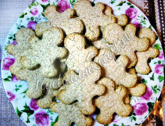 Постное коксовое печенье рецепт