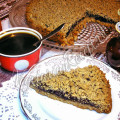 Тертый пирог из ржаной муки