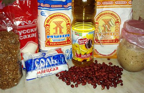 Закваска и необходимые продукты