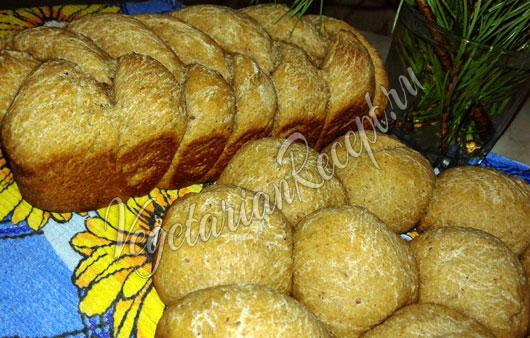 Заварной хлеб на закваске - рецепт с фото
