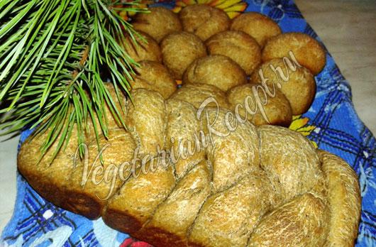Заварной хлеб на закваске