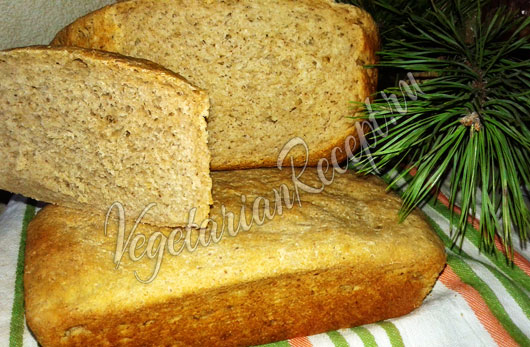 Заварной пшеничный хлеб на закваске