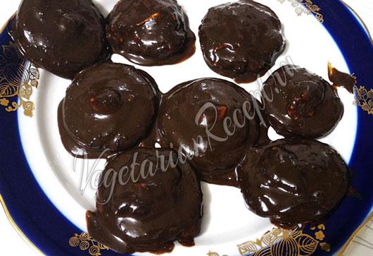 Зефир без яиц с агар-агаром в шоколаде