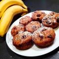 Постные банановые маффины