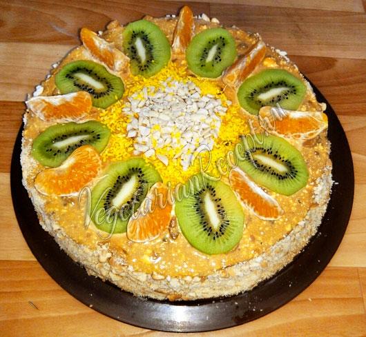 торт из 2 яиц рецепт с фото