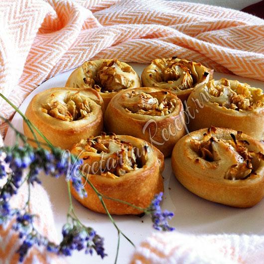 Фото рецепт вкусных булочек