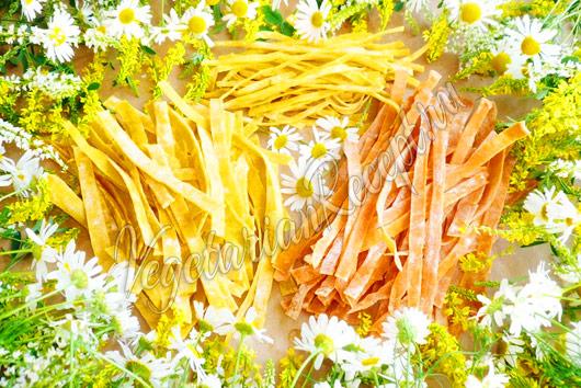 Домашняя лапша - пошаговый рецепт с фото