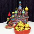 Крымские самосы с фруктами в духовке