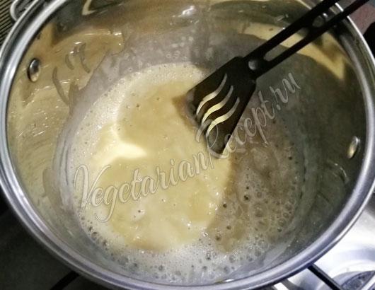 Приготовление сливочного соуса
