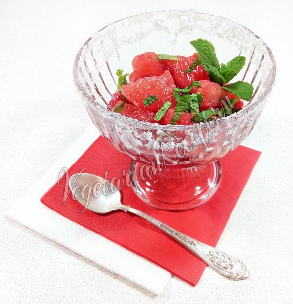 Рецепт с фото десерта из грейпфрута