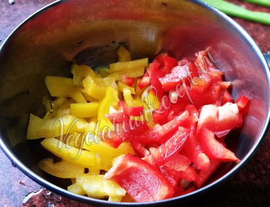 Густой овощной суп с рисом и сыром - рецепт с фото