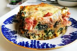 Каннеллони с рикоттой и шпинатом - рецепт