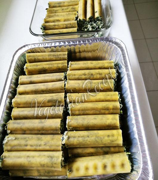 Фаршированные рикоттой и шпинатом