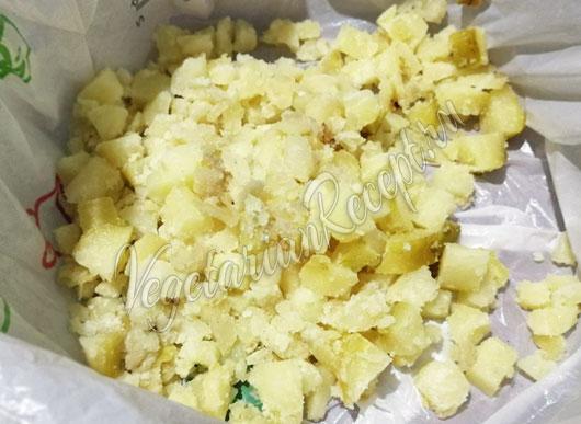 Картошка отваренная