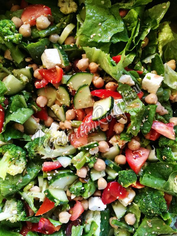 Салат с маслинами и сыром фета рецепт 49