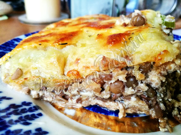 Вегетарианский пастуший пирог