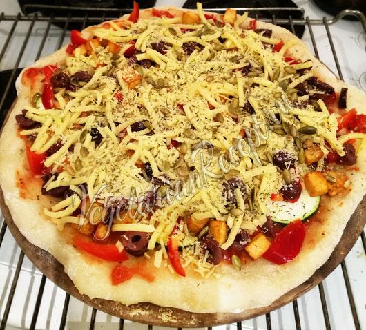 Приготовление пиццы на закваске