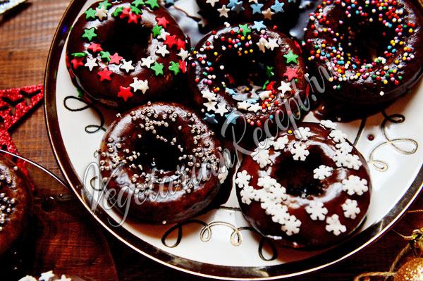 Пончики с глазурью - рецепт