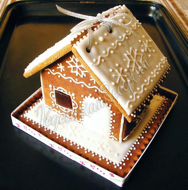Пряничный домик без яиц