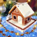 Постный пряничный домик