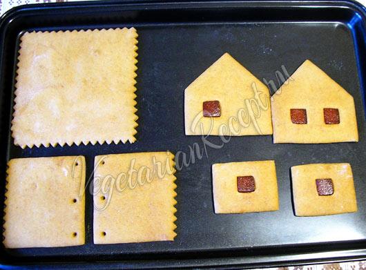 Детали пряничного домика