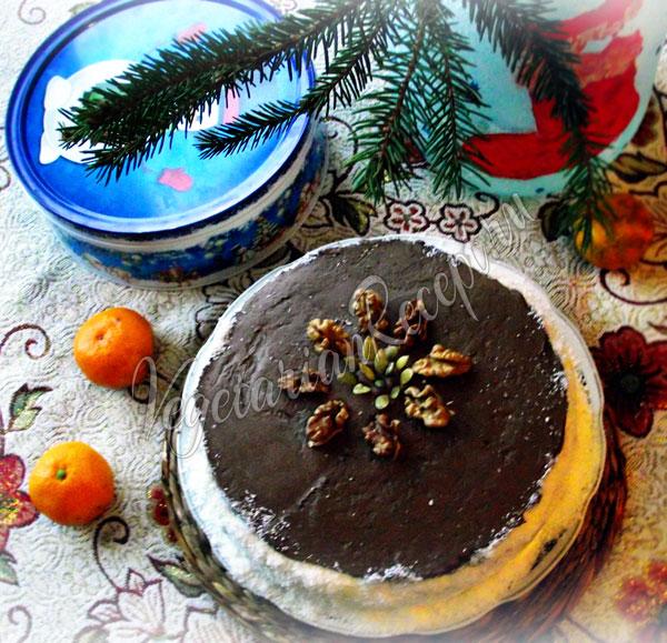 Пряничный торт - фото