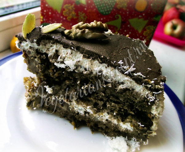 Пряничный торт - рецепт с фото