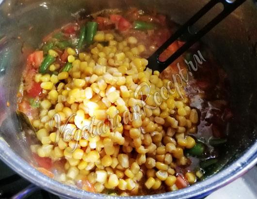 Бросаем кукурузу