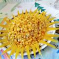 Салат из репы и кукурузы Солнышко