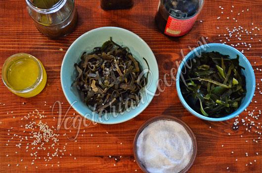 Как приготовить салат из сушеной морской капусты