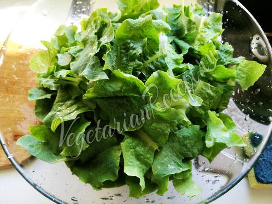 Салатная зелень