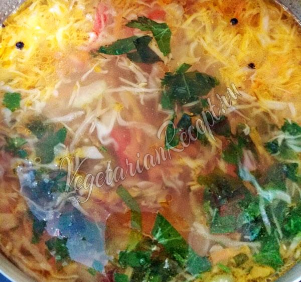 Вегетарианские щи - рецепт