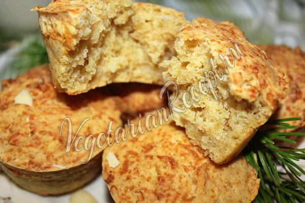 Сырные маффины - рецепт