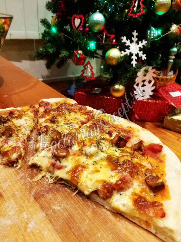 Тесто на закваске для пиццы
