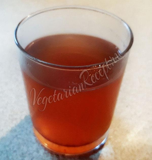 Безалкогольный глинтвейн с яблочным соком